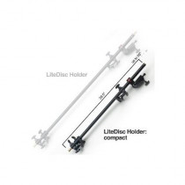Photoflex DL-BHLDRCOMP Compact Aluminum Telescopic Litedisc Holder- Extends From 28. 5 In. To 5 0 In.