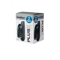 PocketWizard PlusX 801-329 Flash Transceiver - 2 Pack (Black)