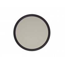 Heliopan 37mm Circular Polarizer Filter (703741) with specialty Schott glass in floating brass ring