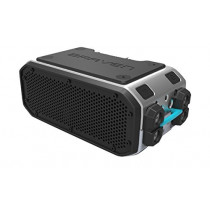 BRAVEN BRV-Pro Wireless Bluetooth Speaker [Waterproof][15 Hour Playtime] - Silver/Black/Cyan
