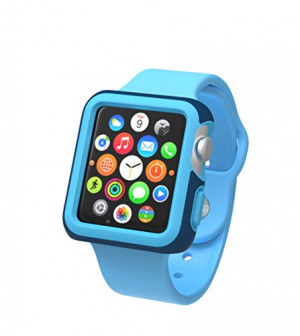 Speck Products CandyShell Fit Case for Apple Watch 42mm, Deep Sea Blue/Maya Blue