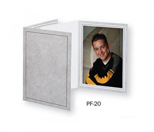TAP Picture Folder Frame PF-20, for 4x6 Photo. Color: Gray Marble (10 Pack) by Tap