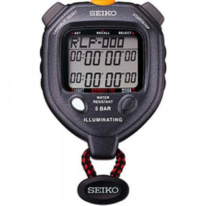 Ultrak Seiko 100 Lap Memory Timer with LED Light