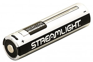 Streamlight 18650 USB Rechargeable Lithium Ion Battery