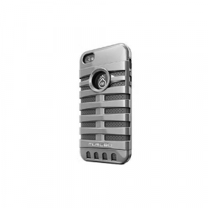 Musubo Retro Case for iPhone 5, Silver