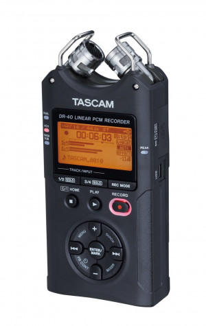 DR-40 4-Track Handheld Digital Audio Recorder