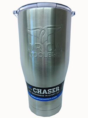 ORCA Chaser, Hot or Cold Tumbler, 27oz Stainless Steel