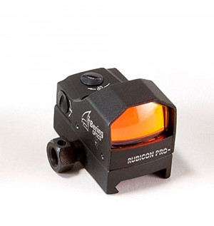 Bering Optics Rubicon Reflex Sight w/ 5 Setting Ret. Control, Black, 1.9ininx1.2inx1.5in (850432003458)