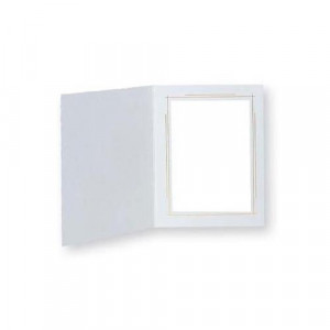 "TAP Frame Whitehouse, White / Gold, for 8x10"" Photo (25 Pack)"