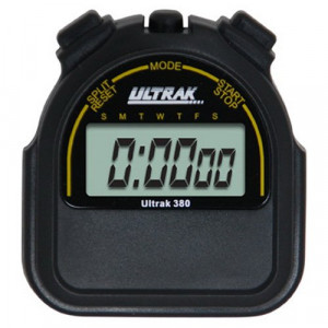 Ultrak 380 Sport Stopwatch - Black