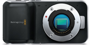 Blackmagic Pocket Cinema Camera with Micro Four Thirds Lens Mount (Body Only)